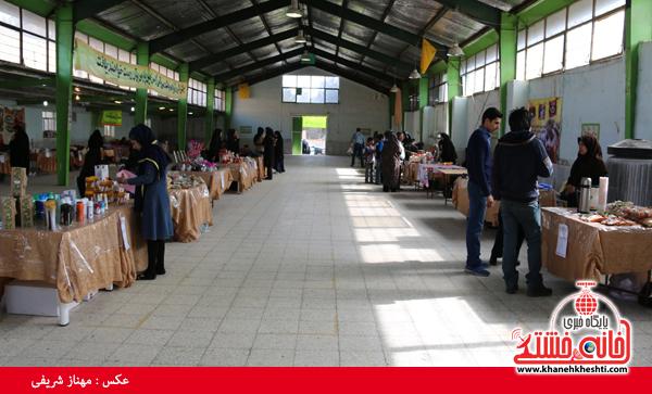 نمایشگاه صنایع دستی در رفسنجان-خانه خشتی۳
