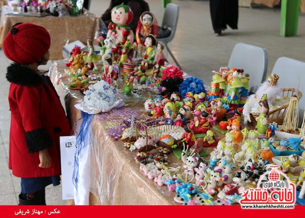 نمایشگاه صنایع دستی در رفسنجان-خانه خشتی۶