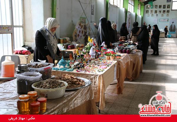 نمایشگاه صنایع دستی در رفسنجان-خانه خشتی۸
