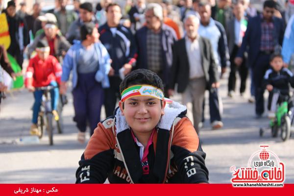 همایش دوچرخه سواری روستای قاسم آباد رفسنجان(خانه خشتی)