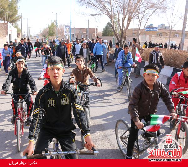 همایش دوچرخه سواری روستای قاسم آباد رفسنجان(خانه خشتی)۱