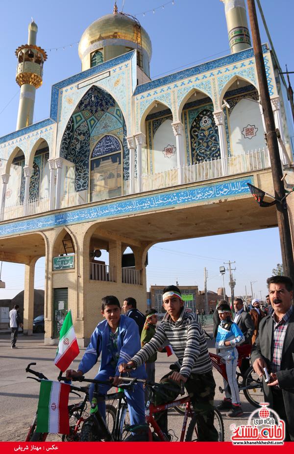 همایش دوچرخه سواری روستای قاسم آباد رفسنجان(خانه خشتی)۱۱