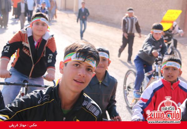 همایش دوچرخه سواری روستای قاسم آباد رفسنجان(خانه خشتی)۲