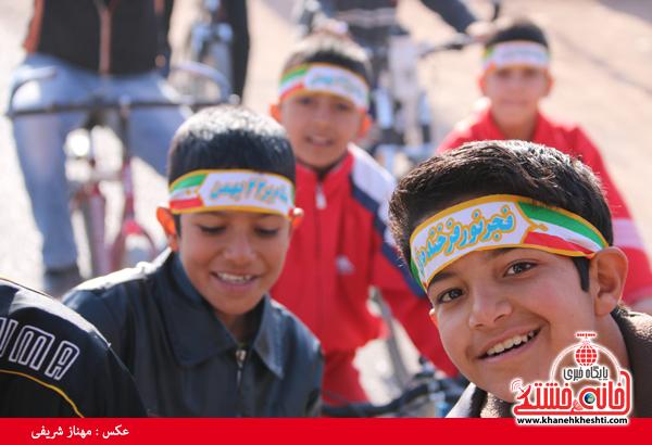 همایش دوچرخه سواری روستای قاسم آباد رفسنجان(خانه خشتی)۳