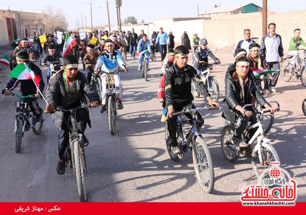 همایش دوچرخه سواری روستای قاسم آباد رفسنجان(خانه خشتی)۷