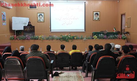 همایش مزدوجین کمیته امداد امام خمینی (ره) رفسنجان برگزار شد