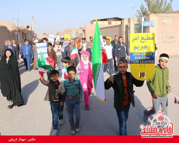 همایش پیاده روی خانوادگی روستای قاسم آباد رفسنجان(خانه خشتی)۱