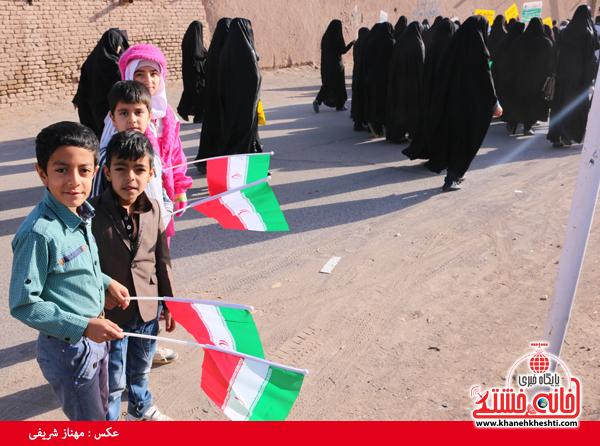 همایش پیاده روی خانوادگی روستای قاسم آباد رفسنجان(خانه خشتی)۵