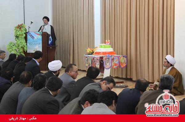 کیک تولد انقلاب در رفسنجان(خانه خشتی)۲