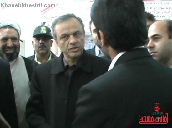 افتتاح طرح های عمرانی در رفسنجان با حضور استاندار