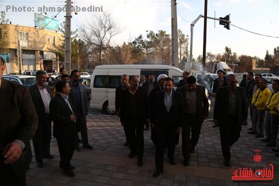 دوربین خانه خشتی در سفر وزیر ارتباطات به رفسنجان
