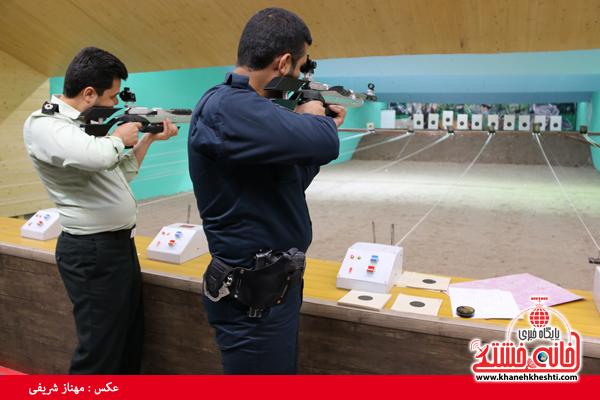 مسابقات تیراندازی نیروهای مسلح رفسنجان + عکس