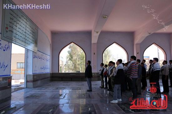 بیست و هفتمین کاروان زیارتی مناطق جنگی جنوب -اتحادیه انجمن اسلامی رفسنجان ۹۳ (۵)