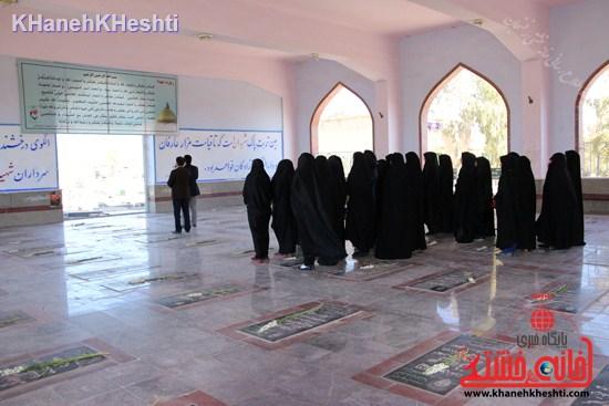 بیست و هفتمین کاروان زیارتی مناطق جنگی جنوب -اتحادیه انجمن اسلامی رفسنجان ۹۳ (۹)