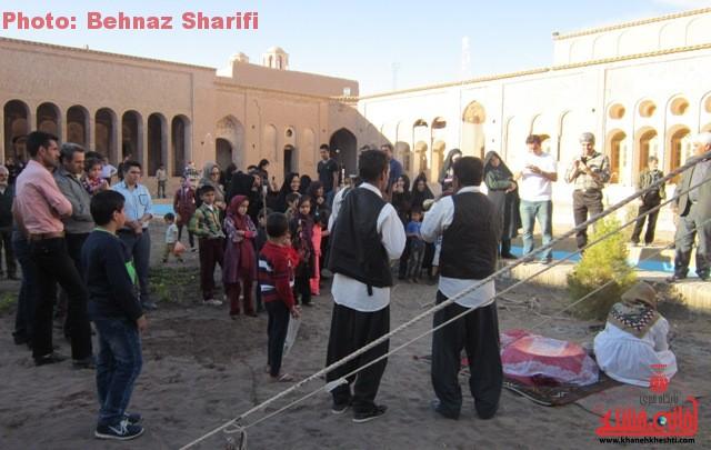 خانه حاج آقا علی بزرگترین خانه خشتی جهان در رفسنجان_خانه خشتی (۳)
