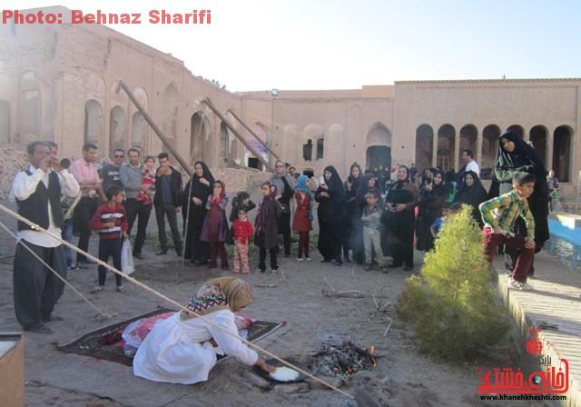 خانه حاج آقا علی بزرگترین خانه خشتی جهان در رفسنجان_خانه خشتی (۴)