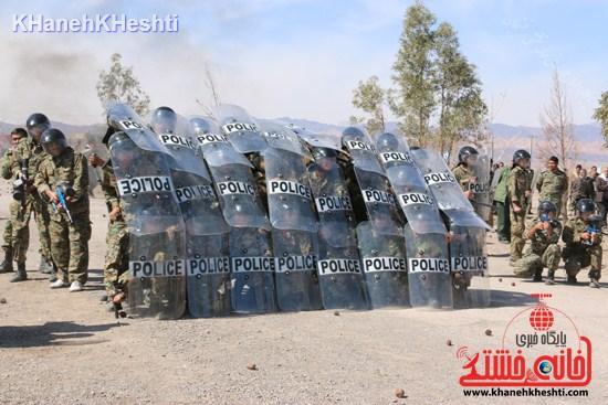 رزمایش محمد رسول الله در اردوگاه شهید میرافضلی رفسنجان ۱۳۹۳ (۱۱)