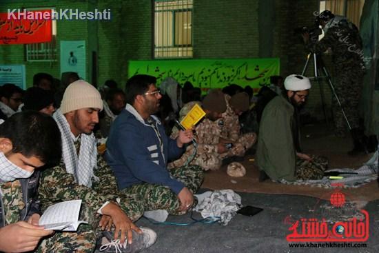 رزمایش محمد رسول الله در اردوگاه شهید میرافضلی رفسنجان ۱۳۹۳ (۱۸)
