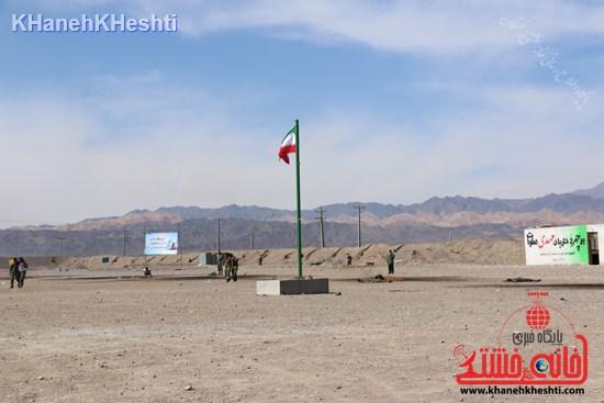 رزمایش محمد رسول الله در اردوگاه شهید میرافضلی رفسنجان ۱۳۹۳ (۷)