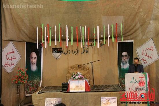 دوربین خانه خشتی در سیزدهمین یادواره شهدای محله کمال آباد رفسنجان