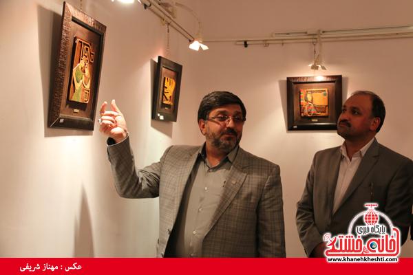 فلاح مدیر کل فرهنگ و ارشاد استان کرمان_خانه خشتی (۴)