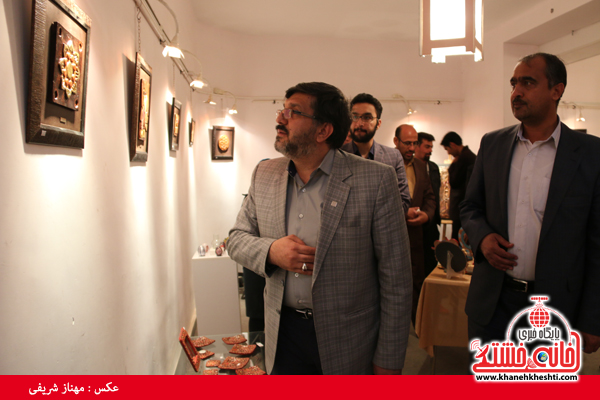 فلاح مدیر کل فرهنگ و ارشاد استان کرمان_خانه خشتی (۷)
