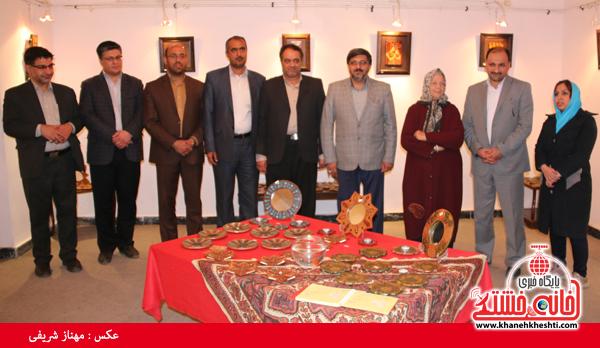 فلاح مدیر کل فرهنگ و ارشاد استان کرمان_خانه خشتی (۹)