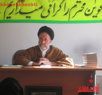 دیدار دانش آموزان نخبه با رئیس اداره تبلیغات اسلامی رفسنجان