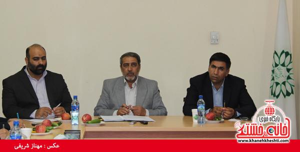 نشست مطبوعاتی شهردار رفسنجان با اصحاب رسانه-خانه خشتی (۵)