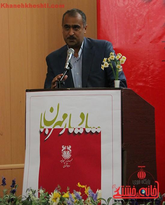 نشست یک مؤلف یک کتاب در رفسنجان-خانه خشتی (۲)
