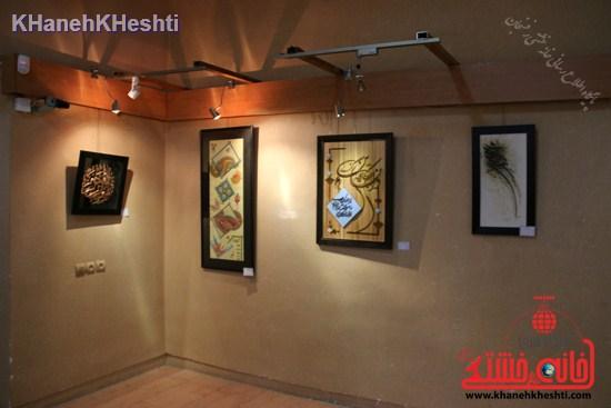 ششمین نمایشگاه سالانه اکسپو هنرمندان رفسنجان برپا شد