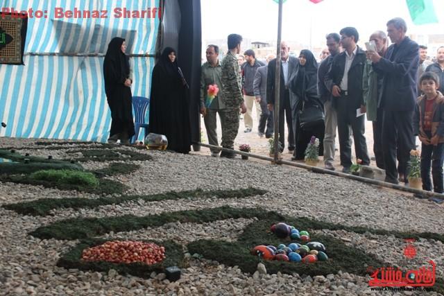 هفت سین فاطمی/ تصاویر دوربین خانه خشتی در آخرین نماز جمعه سال ۹۳