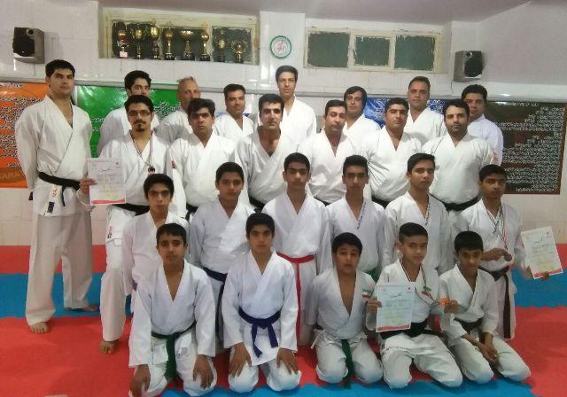 کاراته رفسنجان_خانه خشتی (۱)