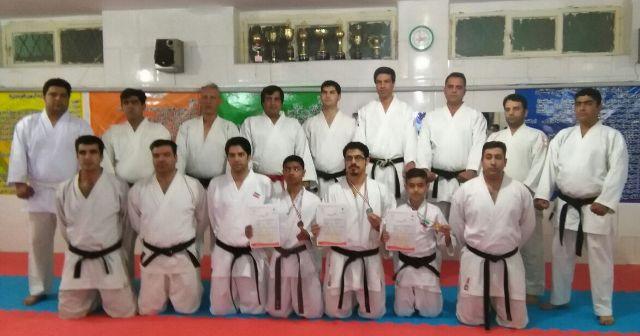 کاراته کاهای رفسنجانی موفق به کسب سه مدال طلا، نقره و برنز شدند
