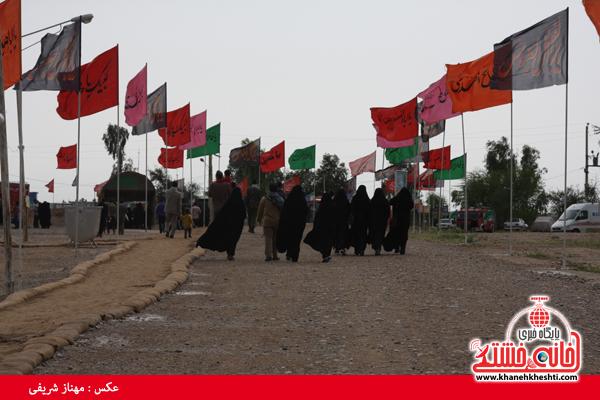 اعزام ۲۵۰ زائر رفسنجانی به مناطق عملیاتی جنوب کشور