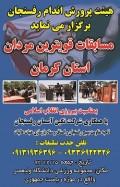 مسابقات قوی ترین مردان استان کرمان