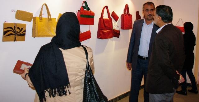 نمایشگاه گروهی صنایع دستی در رفسنجان بازگشایی شد