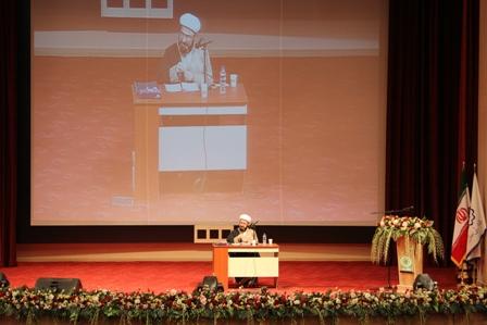 حجت الاسلام بهجت در دانشگاه ولی عصر (عج) رفسنجان حضور یافت + عکس