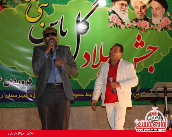 دوربین خانه خشتی در مراسم جشن گل یاس نبی(ص) رفسنجان