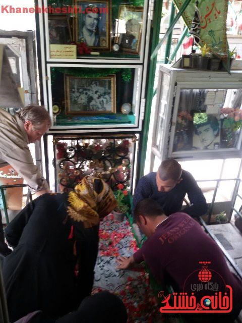 قطعه شهدای بهشت زهرای تهران_خانه خشتی (۱۷)