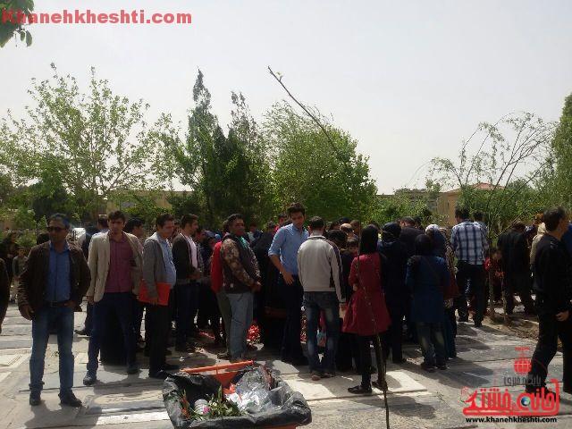 قطعه هنرمندان بهشت زهرای تهران_خانه خشتی (۴)