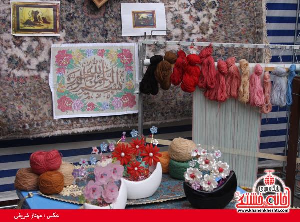اولین نمایشگاه توانمندی بانوان رفسنجان افتتاح شد