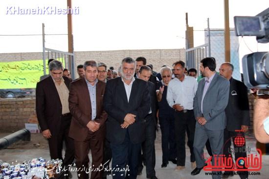 وزیر جهاد کشاورزی از پروژه آبیاری تحت فشار کبوترخان بازدید کرد (۵)