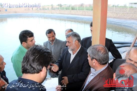 وزیر جهاد کشاورزی از پروژه آبیاری تحت فشار کبوترخان بازدید کرد (۸)
