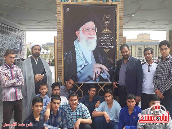 """دانش آموزان به """"کمپین دفاع از مردم یمن و پاسپورت ایرانی"""" پیوستند"""