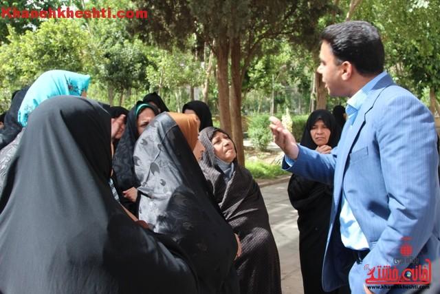 اعتراض اهالی روستای جهان آباد نوق به وضعیت آب آشامیدنی