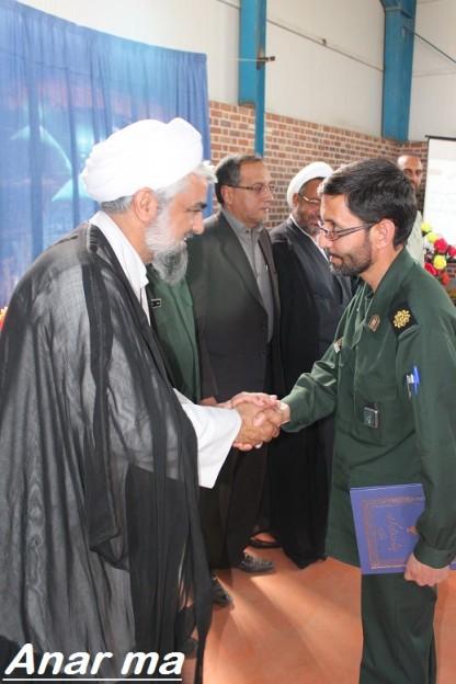 مسئول فرهنگی سپاه ناحیه رفسنجان، فرمانده سپاه ناحیه شهرستان انار شد
