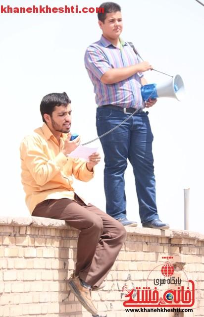 اعتراض مردم رفسنجان به توافق به هر قیمتی_خانه خشتی (۲۱)
