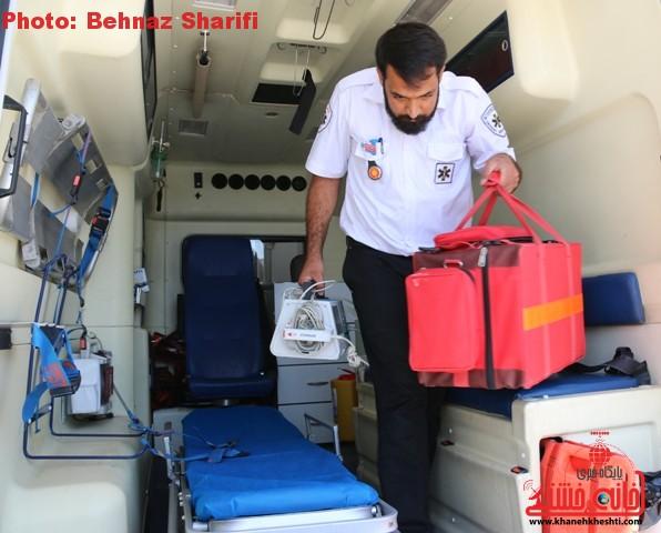 یک روز با اورژانس ۱۱۵ رفسنجان/ اقدامات و توصیه های اورژانسی به شهروندان