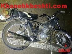 برخورد وانت با موتور سیکلت، مرگ موتورسوار را رقم زد